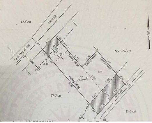 ♻️ Hẻm 71đường 359 Phước Long B💰 3.2 TỶ_76m2 xây đủ đất , thổ cư 56m2_Hẻm cụt 3m ô tô vào cửa