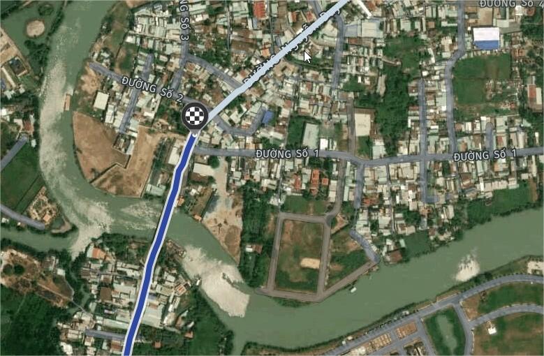 Mặt tiền Nguyễn Duy Trinh gần cầu Ông Nhiêu 12 tỷ
