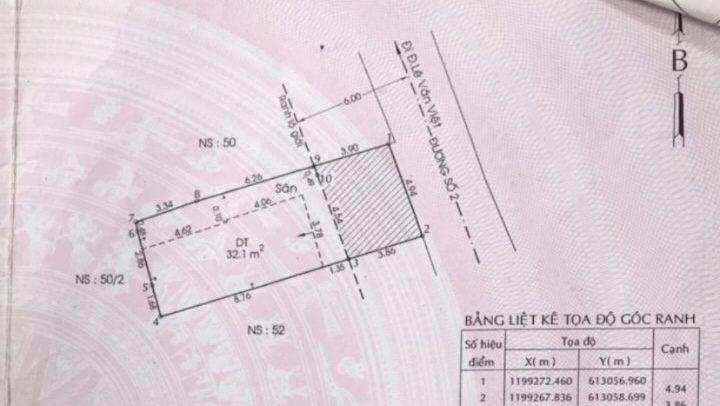 70m2 đất mặt tiền đường 2 Lê Văn Việt giá 3.75 tỷ. Đường thông kinh doanh tốt