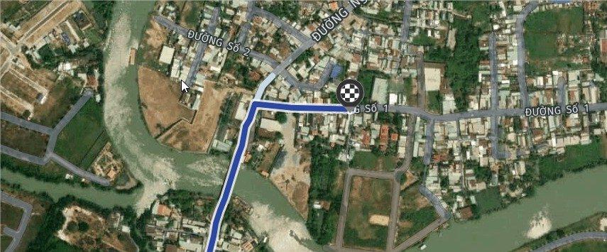 Bán đất MT 31 đường số 1 Nguyễn Duy Trinh 💰 5.2 tỷ  DT 5×24=110m2 có 82m2 thổ cư và 27m2 rừng