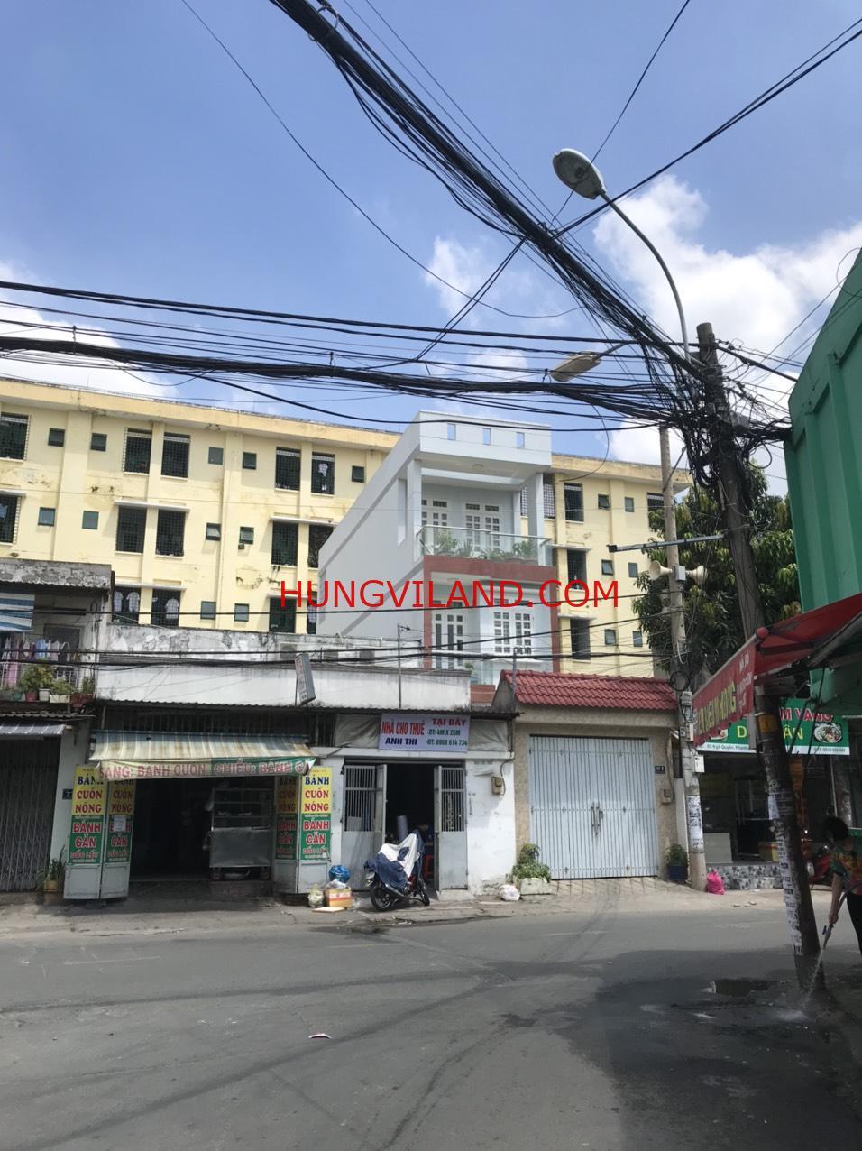 Mặt tiền 3 tầng Ngô Quyền Lê Văn Việt