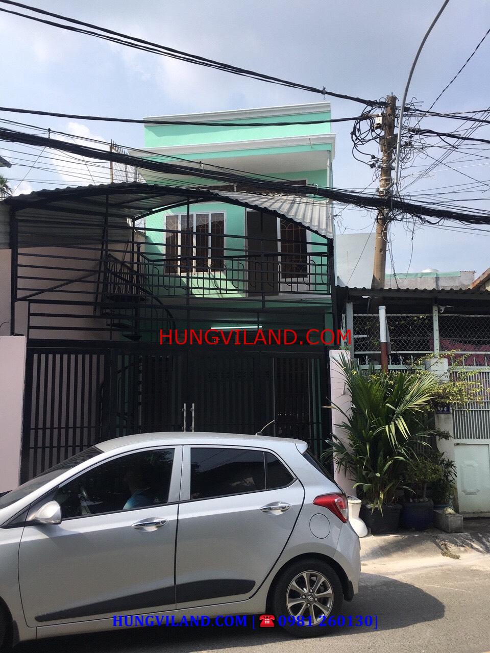 Bán nhà mặt tiền đường 379, Tăng Nhơn Phú A, Quận 9 – 4.3 tỷ TL + Hiện trạng: nhà 1 trệt 1 lầu, 2 phòng ngủ, 1WC + Diện tích: 4.25 x 16 = 70m2