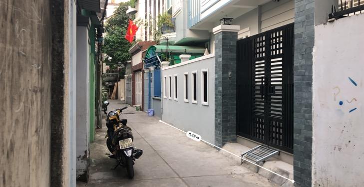 Nhà 11/2 đường 359 Phước Long B, Hẻm ô tô, 1 trệt 2 lầu 51m2 đất giá 4.2 tỷ