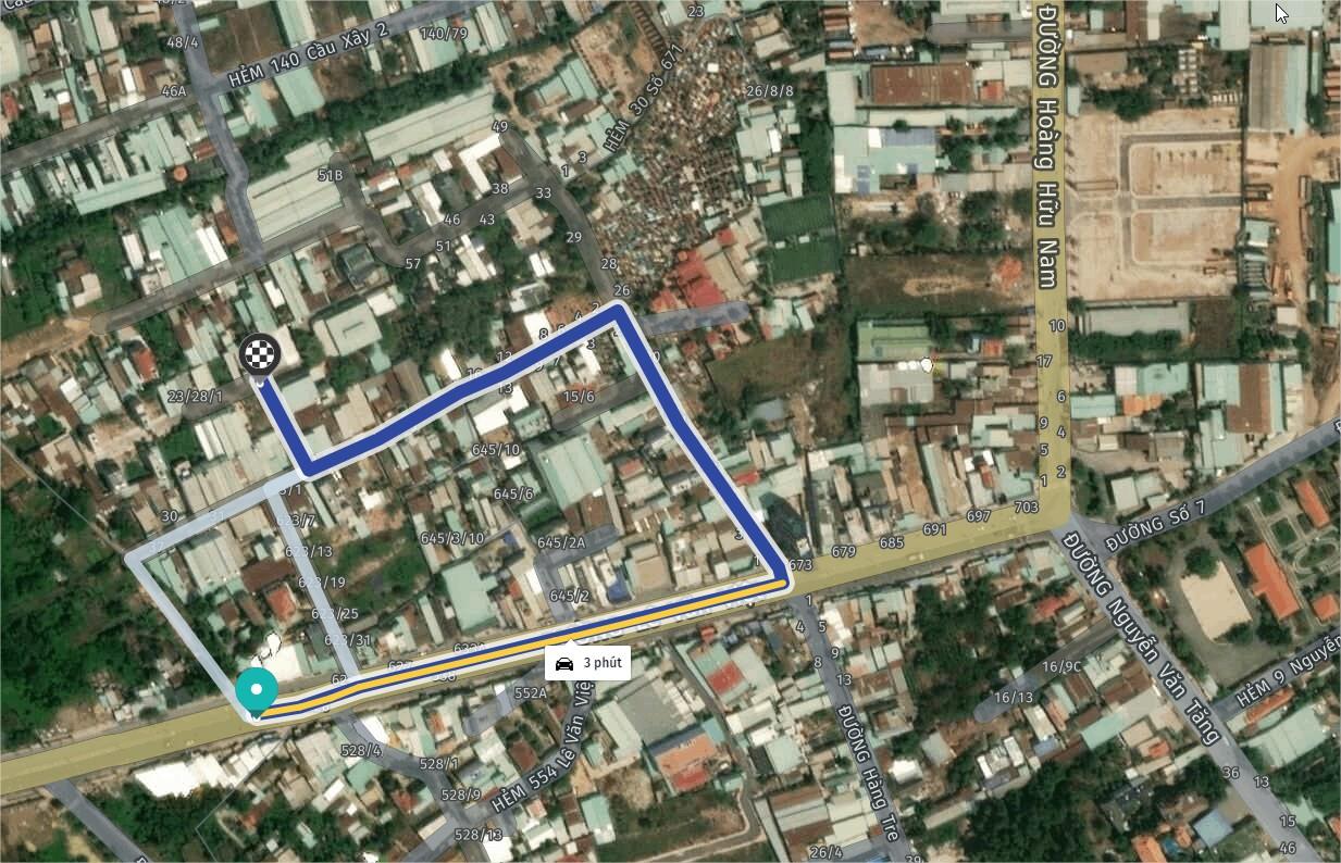 Nhà trọ hẻm ( 10m )671 Lê Văn Việt Đất 165,5m2 (8.4m x20m)_Giá 6,2 tỷ 39tr/m2_thu nhập 14tr/tháng
