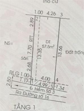 Dãy trọ 5 phòng 70m2 thu nhập 7tr/thang tại Long Thạnh Mỹ Quận 9