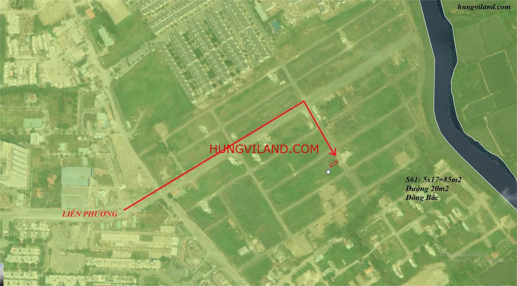 Nền S61 Sở Văn Hóa Thông Tin đường thông 20m cần tiền bán gấp -0981260130