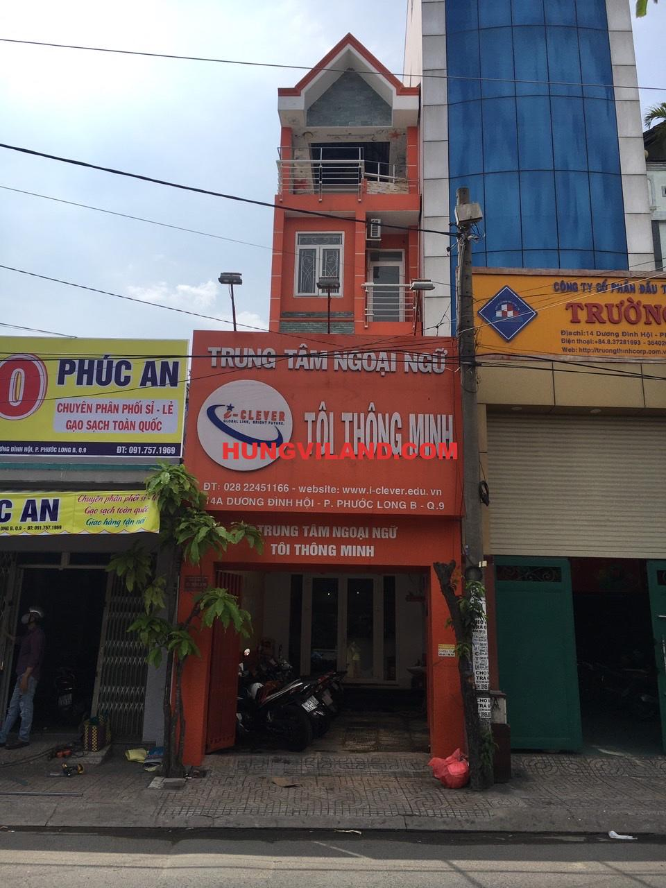 BAN NHA 4 TANG MT DUONG DINH HOI Q9