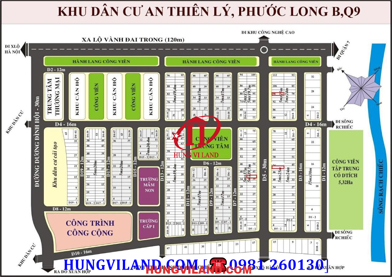 KDC AN THIÊN LÝ số 142 Dương Đình Hội, Q9, HCMC
