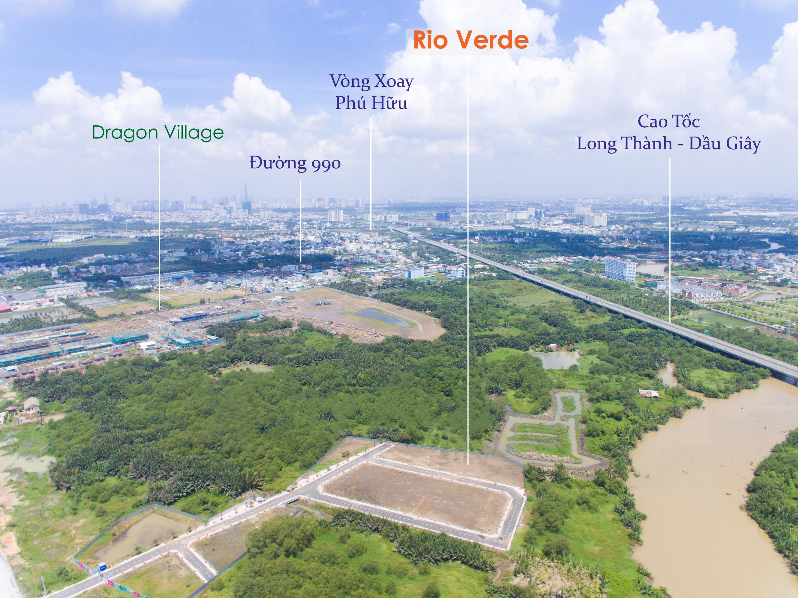 Dự án đất nền Rio Verde Phú Hữu Quận 9